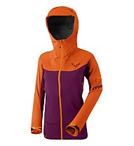 Dynafit Beast Hybrid - Hybridjacke Skitouren - Damen, Purple/Orange