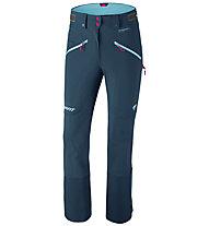 Dynafit Beast Hybrid - pantaloni sci alpinismo - donna, Dark Blue/Light Blue