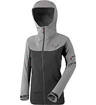 Dynafit Beast Hybrid - giacca ibrida sci alpinismo - donna, Grey/Black