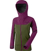 Dynafit Beast Hybrid - Hybridjacke Skitouren - Damen, Purple/Green