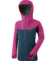 Dynafit Beast Hybrid - Hybridjacke Skitouren - Damen, Pink/Dark Blue