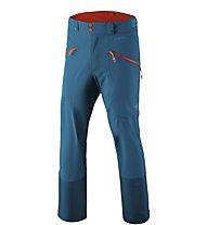 Dynafit Beast Hybrid - pantaloni sci alpinismo - uomo, Blue/Orange