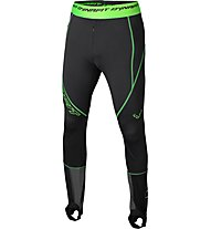 Dynafit Dna Training - pantaloni lunghi sci alpinismo - uomo, Black/Green