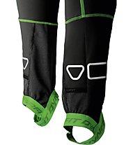 Dynafit Dna Training - pantaloni lunghi sci alpinismo - uomo, Black/Green