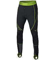 Dynafit Dna Training - pantaloni lunghi sci alpinismo - uomo, Black/Light Green