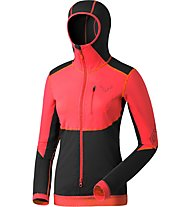 Dynafit Dna Training - Langarm-Shirt Skitouren - Damen, Black/Red