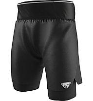 Dynafit DNA Ultra 2in1 - pantaloni corti trail running - uomo, Black