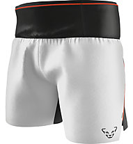 Dynafit DNA Ultra 2in1 Split - pantaloni corti trail running - uomo, Grey/Black/Red