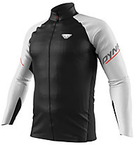 Dynafit DNA Wind - giacca trail running - uomo, Black/White/Red