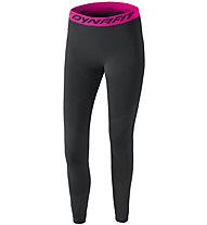 Dynafit Dryarn Warm - lange Unterhose - Damen, Black/Pink