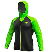 Dynafit Elevation 2 GTX - giacca con cappuccio - uomo, Black/Green
