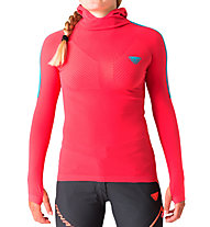 Dynafit Elevation S-Tech - Langarm-Shirt Trailrunning - Damen, Pink