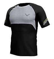 Dynafit Elevation Tee - Laufshirt Trailrunning - Herren, Black/Grey