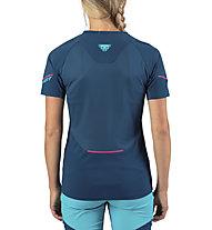 Dynafit Elevation Tee - Laufshirt Trailrunning - Damen, Blue/Light Blue