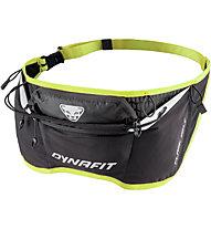 Dynafit Flask Belt - cintura/marsupio da running, Dark Grey/Yellow