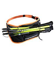 Dynafit Flask Belt - cintura/marsupio da running, Black/Orange