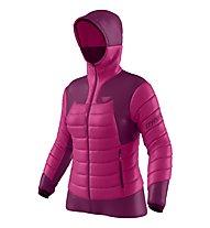 Dynafit Free Down  - giacca con cappuccio - donna, Pink/Purple