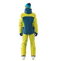 Dynafit Free GTX M - pantaloni freeride - uomo, Yellow/Blue
