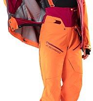 Dynafit Free GTX W - pantaloni freeride - donna, Orange/Red