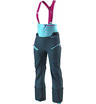 Dynafit Free GTX W - pantaloni freeride - donna, Blue/Light Blue/Pink