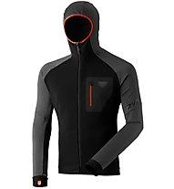 Dynafit FT Dryarn Warm - Langarmshirt mit Kapuze - Herren, Black/Grey/Orange
