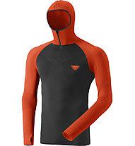 Dynafit FT Dryarn Warm - maglia a maniche lunghe - uomo, Orange/Black