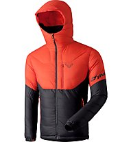 Dynafit Ft - Daunenjacke mit Kapuze - Herren, Black/Orange