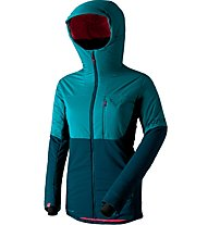 Dynafit Ft Pro Prl - giacca con cappuccio sci alpinismo - donna, Light Blue/Blue