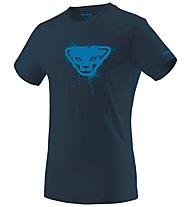 Dynafit Graphic - T-Shirt - uomo, Dark Blue/Light Blue