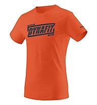 Dynafit Graphic - T-Shirt - uomo, Orange/Navy