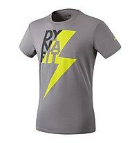 Dynafit Graphic - T-Shirt Bergsport - Herren, Grey/Yellow