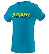 Dynafit Graphic - T-Shirt Bergsport - Herren, Light Blue/Green
