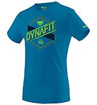 Dynafit Graphic - T-Shirt Bergsport - Herren, Light Blue/Green/Black