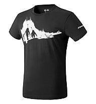 Dynafit Graphic - T-Shirt - uomo, Black/White/White