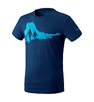 Dynafit Graphic - T-Shirt - uomo, Blue/Cyan