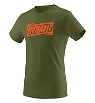 Dynafit Graphic - T-Shirt Bergsport - Herren, Green/Orange