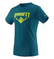 Dynafit Graphic - T-Shirt Bergsport - Herren, Blue/Green