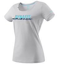 Dynafit Graphic - T-Shirt sport di montagna - donna, Grey/Light Blue