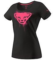Dynafit Graphic - T-Shirt sport di montagna - donna, Black/Pink