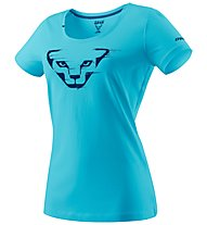 Dynafit Graphic - T-Shirt sport di montagna - donna, Light Blue/Blue