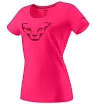 Dynafit Graphic - T-Shirt sport di montagna - donna, Pink/Dark Pink