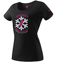 Dynafit Graphic - T-Shirt sport di montagna - donna, Black/Grey/Pink