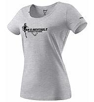 Dynafit Graphic Melange Co - Shirt - Damen, Grey/Black