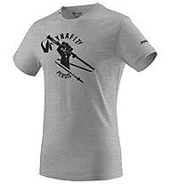 Dynafit Graphic Melange Co M - T-Shirt - Damen , Grey