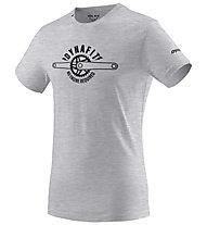 Dynafit Graphic Melange Co M - T-Shirt - Damen , Light Grey