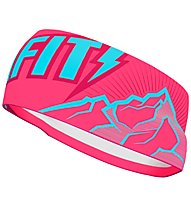Dynafit Graphic Performance - Stirn-Ohrenband, Pink/Purple/Light Blue