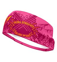 Dynafit Graphic Performance - fascia paraorecchie, Pink/Purple/Orange