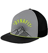 Dynafit Graphic Trucker - Schirmmütze, Grey/Yellow/Black