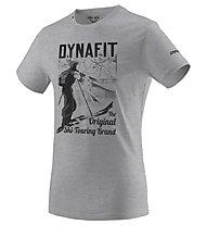 Dynafit Heritage Co M S/S - T-Shirt - Herren, Grey/Black