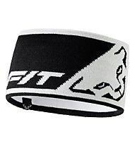 Dynafit Leopard Logo - Stirnband, White/Black